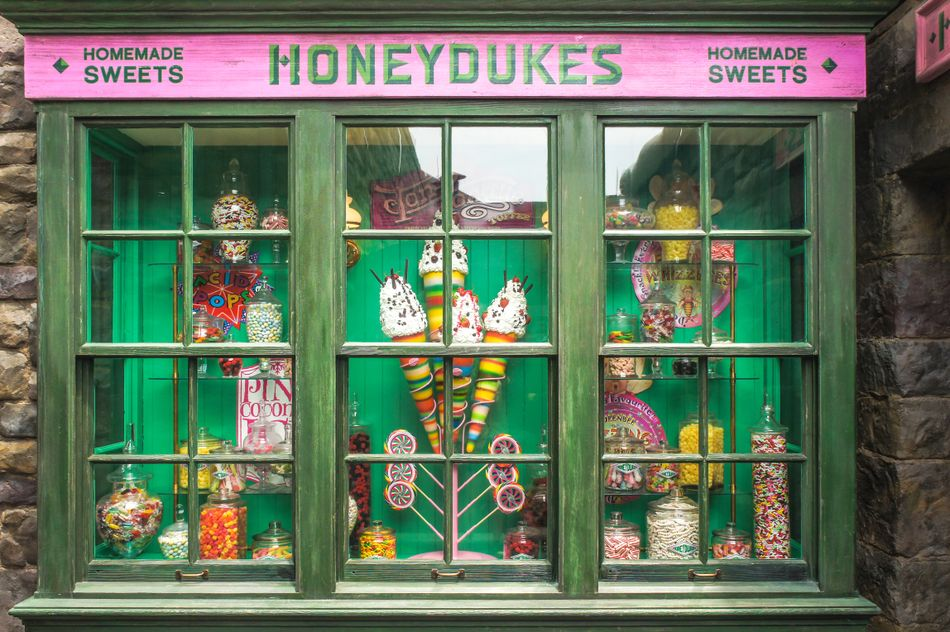 Honeydukes provides.